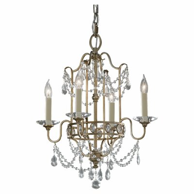 Feiss Gianna 4 Light Chandelier