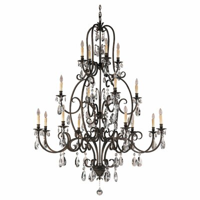 Feiss Salon Ma Maison 16 Light Chandelier