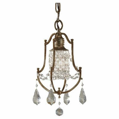 Valentina 1 Light Mini Chandelier
