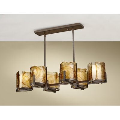 Aris 6 Light Billiard Chandelier