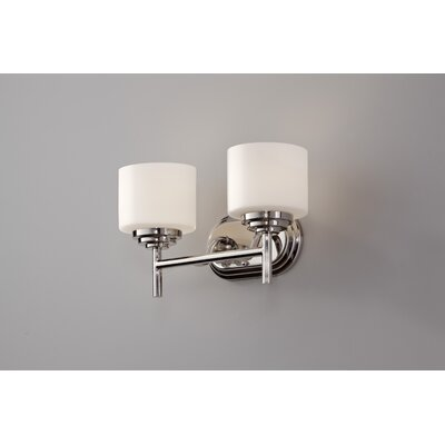 Feiss Malibu 2 Light Bath Vanity Light