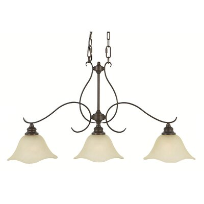 Feiss Morningside 3 Light Kitchen Island Pendant