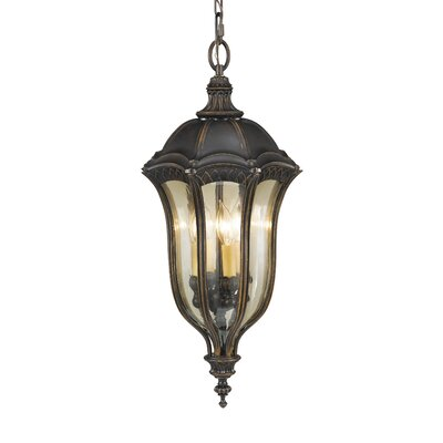 Feiss Baton Rouge 4 Light Outdoor Hanging Lantern