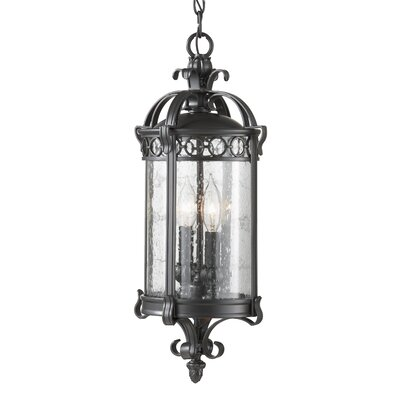 Feiss Chancellor 2 Light Outdoor Hanging Lantern