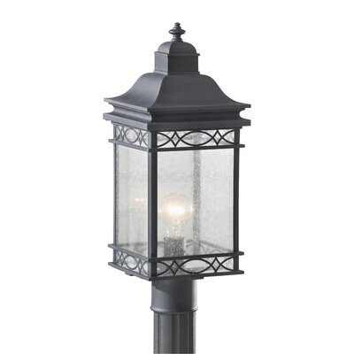 "Feiss Liberty 1 Light 7.75"" Outdoor Post Lantern"
