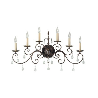 Feiss Chateau 6 Light Wall Sconce