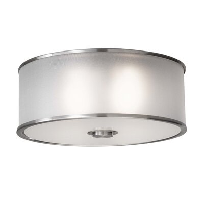 Feiss Casual Luxury 2 Light Flush Mount