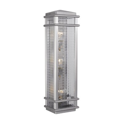 Feiss Monterey Coast 3 Light Outdoor Wall Lantern