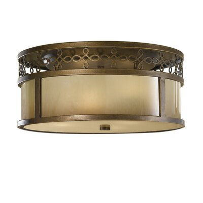 Feiss Justine 3 Light Flush Mount