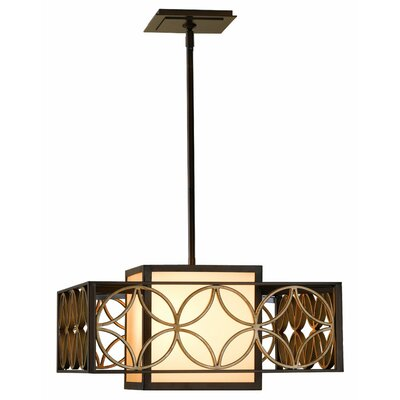 Remy 2 Light Drum Pendant