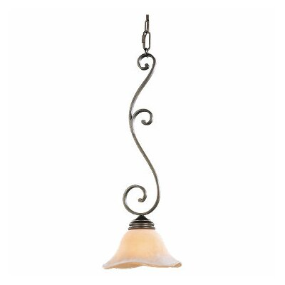 Tuscan Villa 1 Light Mini Pendant
