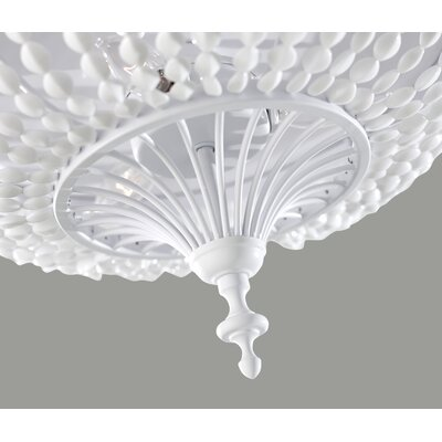 Feiss Maarid 3 Light Flush Mount
