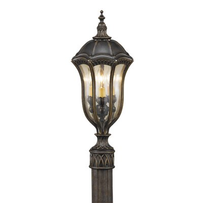 Feiss Baton Rouge 3 Light Outdoor Post Lantern