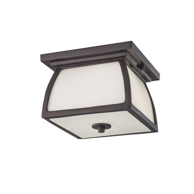 Feiss Wright House 2 Light Outdoor Lantern