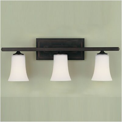 Feiss Boulevard  Vanity Light in Oil Rubbed Bronze