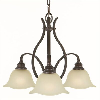 Feiss Morningside 3 Down Light Mini Chandelier