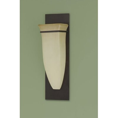 Feiss American Foursquare 1 Light Half Moon Wall Sconce