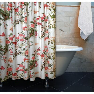 Greenland Home Fashions Butterflies Shower Curtain