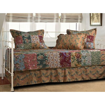 Greenland Home Fashions Antique Chic 5 Piece Daybed Set