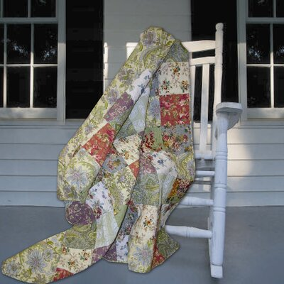 Blooming Prairie Cotton Throw