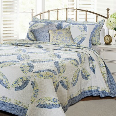 Greenland Home Fashions Francesca Bonus Quilt Set