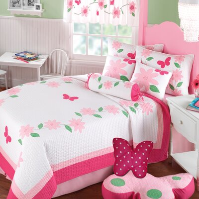 Greenland Home Fashions Papillon Quilt Collection