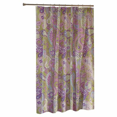 Greenland Home Fashions Portia Paisley Shower Curtain | Wayfair
