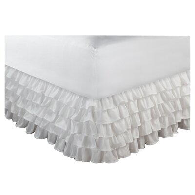 Greenland Home Fashions Multi-Ruffle Bed Skirt