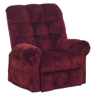 Catnapper Omni Pow'r Lift Full Lay-Out Chaise Recliner in Chianti