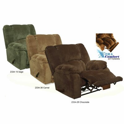 "Catnapper Hogan ""Inch Away"" Chaise Wall Hugger Recliner"