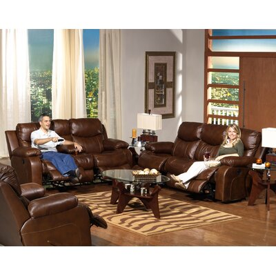 Catnapper Dallas Leather Living Room Collection