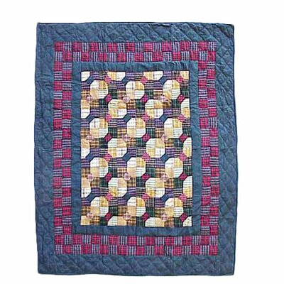 <strong>Patch Magic</strong> Bow Tie Cotton Throw Quilt