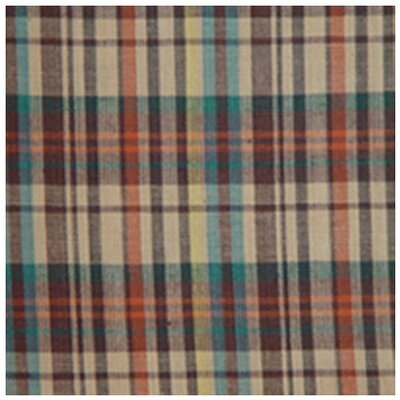 Multi Brown and Tan Plaid Napkin (Set of 4)