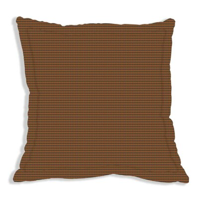 Patch Magic Tan and Blue Plaid Red Pink Line Euro Sham