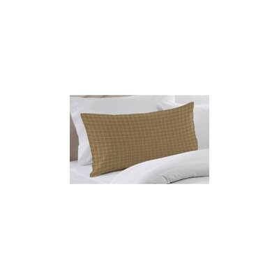 Patch Magic Brown Plaid Pillow Sham