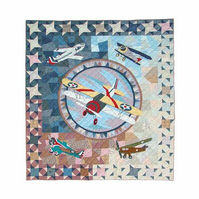 Patch Magic Airplane Quilt