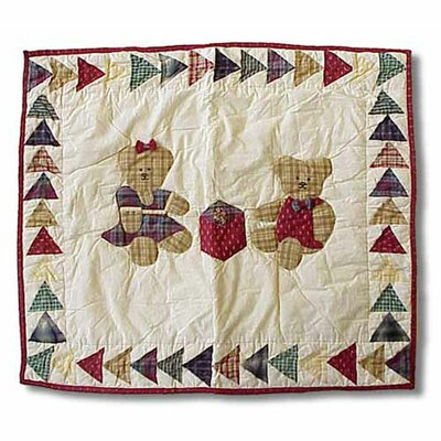 Patch Magic Brown Bear Standard Pillow Sham