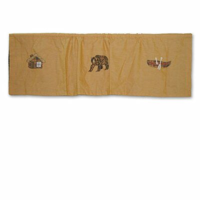 Patch Magic Cabin Cotton Curtain Valance