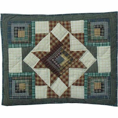 Patch Magic Cottage Star Standard Pillow Sham
