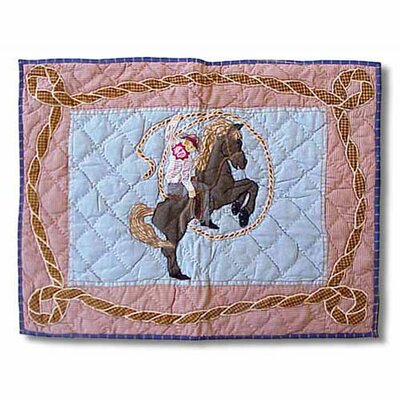 Patch Magic Cowboy Rider Standard Pillow Sham