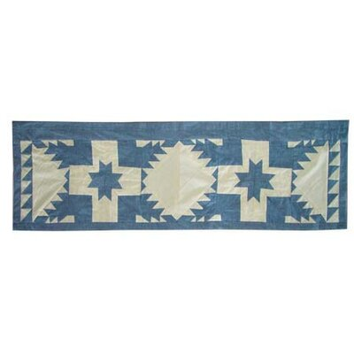 Patch Magic Feathered Star Cotton Curtain Valance
