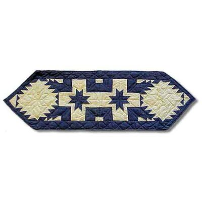 Patch Magic Feathered Star Table Runner
