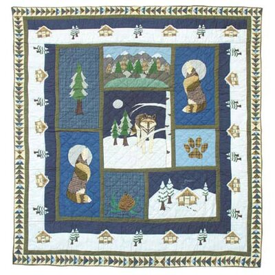 Patch Magic Wolf Quilt