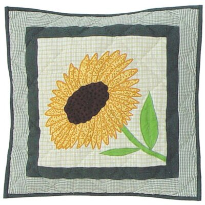 Patch Magic Yellow Field Toss Pillow