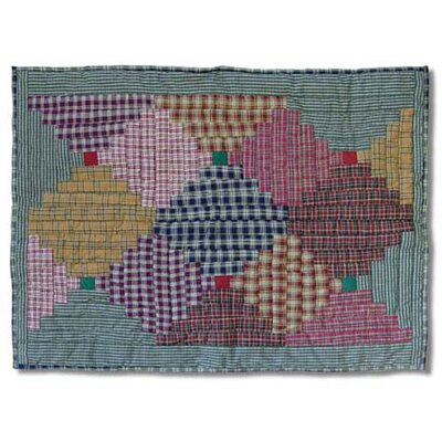 Patch Magic Harvest Log Cabin Standard Pillow Sham