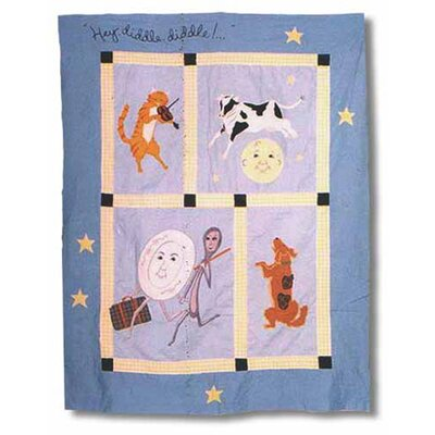 Patch Magic Hey Diddle Diddle Throw Quilt