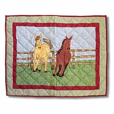 Patch Magic Horse Standard Pillow Sham