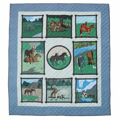 Patch Magic Horse Friends Quilt