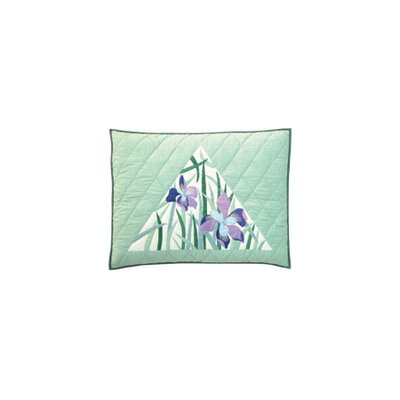 Patch Magic Iris Standard Pillow Sham