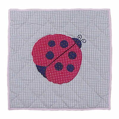 Patch Magic Ladybug Toss Pillow